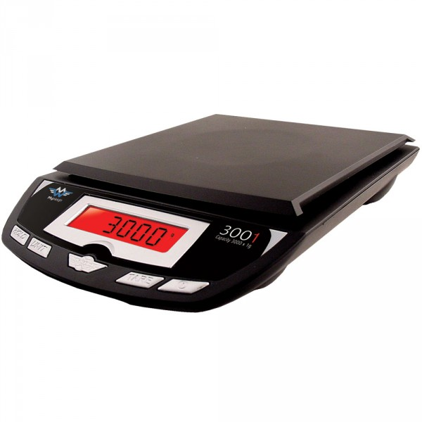 MyWeigh 3001P Čierna do 3000g / 1g